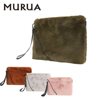 MURUA - MURUA フェイクファーサコッシュ