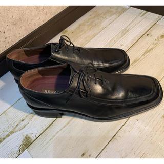 REGAL - ☆革靴 リーガル 24.0cm Uチップシューズ ヒール高☆