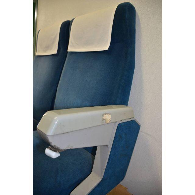 JR(ジェイアール)の国鉄特急型 簡易リクライニングシート 本物 インテリア/住まい/日用品の椅子/チェア(その他)の商品写真