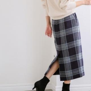 apart by lowrys - アパートバイローリーズ WPツイードチェックタイトスカート