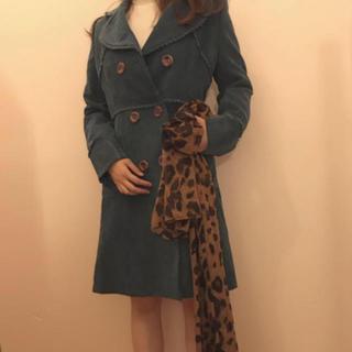 エディットフォールル(EDIT.FOR LULU)のvintage corduroy coat(ロングコート)