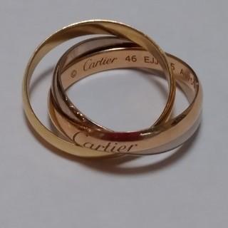 Cartier - カルティエトリニティAu750 #46 シリアル刻印リング