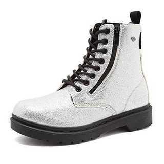 シルバー24.0 cm[BRITISH KNIGHTS]ブーツ レディース スニ(ブーツ)