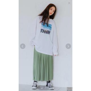 セブンデイズサンデイ(SEVENDAYS=SUNDAY)の新品⭐︎20SS プリーツスカート(ロングスカート)