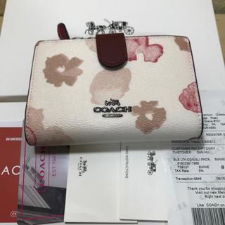 コーチ(COACH)のCOACH コーチ ミニ財布 新品(財布)