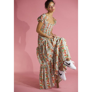 Lochie - vintage long dress