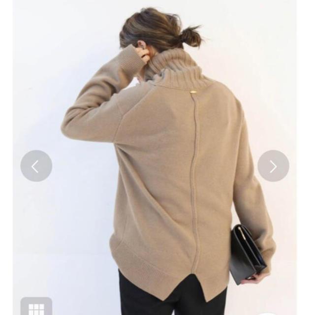 DEUXIEME CLASSE(ドゥーズィエムクラス)のドゥーズィエムクラス  JADE タートルネック ニット レディースのトップス(ニット/セーター)の商品写真