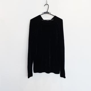 ダブルスタンダードクロージング(DOUBLE STANDARD CLOTHING)のダブルスタンダードクロージング ベルベット糸のニット 新品未使用(ニット/セーター)