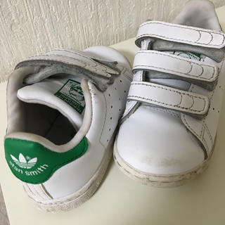 adidas - adidas アディダス オリジナルス スタンスミス ベルクロ キッズスニーカー