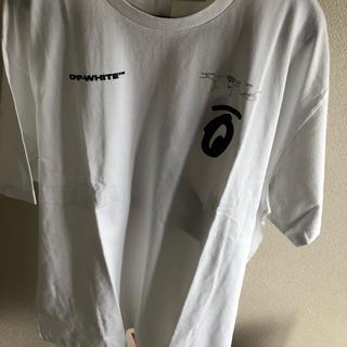 OFF-WHITE - 【新品未着用】 off-white ホワイト スプリット アロー T シャツ