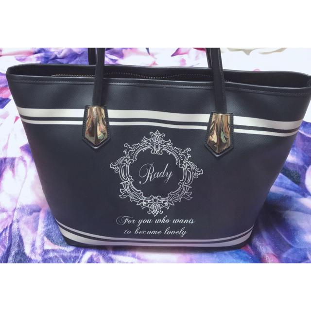 Rady(レディー)のRady ホテルシリーズ  トートバッグ ブラック レディースのバッグ(トートバッグ)の商品写真