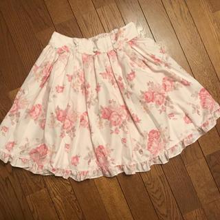 LIZ LISA - リズリサ ローズ柄スカート 美品