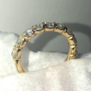 k18ダイヤモンドエタニティリング(リング(指輪))