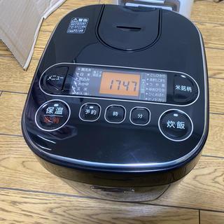 アイリスオーヤマ - 送料込 2018年製 人気ブラック 5.5合 ジャー 炊飯器 アイリスオーヤマ