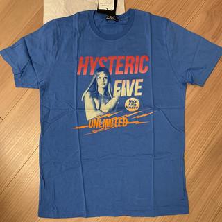 HYSTERIC GLAMOUR - ヒステリックグラマー Tシャツ size L カラーブルー