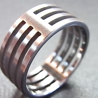 【1個のみ】 29号  ステンレスリング R1(リング(指輪))