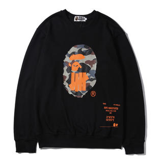 UNDEFEATED - A BATHING APE × UNDEFEATED トレーナー XXL 黒