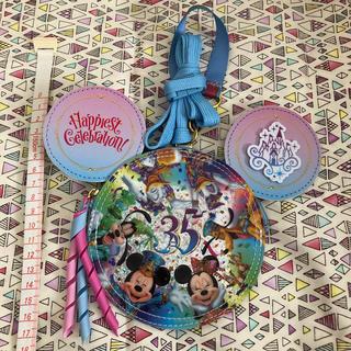 Disney - パスケース*ディズニーランド35周年