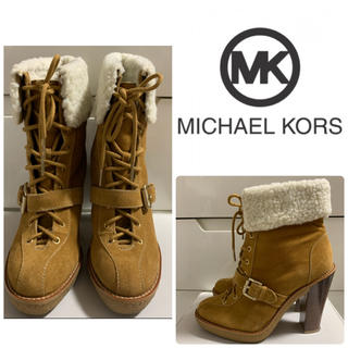 Michael Kors - マイケルコース   キャメルスエード ブーツ