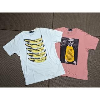 HYSTERIC GLAMOUR - ヒステリックグラマー×Andy Warhol Tシャツ Lサイズ