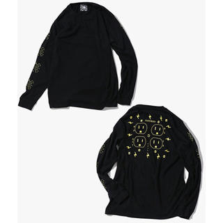 ナノユニバース(nano・universe)のnano・universe 長袖Tシャツ ブラック / LARGE(Tシャツ/カットソー(七分/長袖))