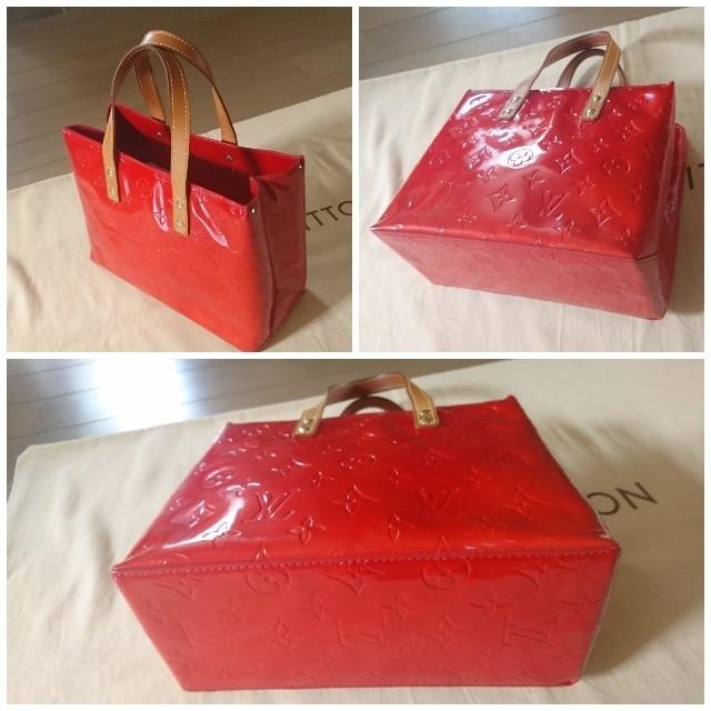 LOUIS VUITTON(ルイヴィトン)のルイヴィトン♪ヴェルニ♪リード レディースのバッグ(トートバッグ)の商品写真