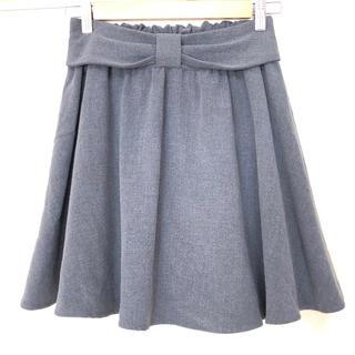 マジェスティックレゴン(MAJESTIC LEGON)のフレアスカート プリーツスカート(ひざ丈スカート)