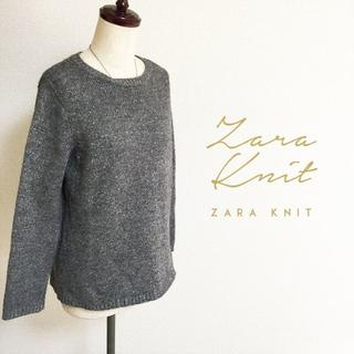ZARA - ZARA☆バックボタンウールニット
