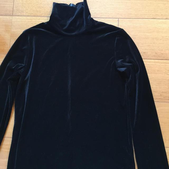 LE CIEL BLEU(ルシェルブルー)のル シェル ブルーのベルベット ブラウス レディースのトップス(シャツ/ブラウス(長袖/七分))の商品写真