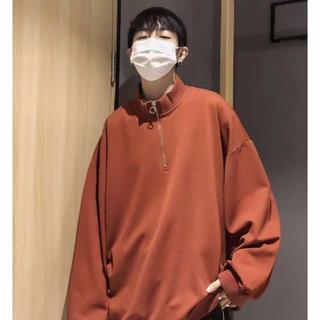 カンゴール(KANGOL)のneos ビックルーズハーフジップ(Tシャツ/カットソー(七分/長袖))