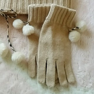 バーバリー(BURBERRY)の【送込】BURBERRY(バーバリー)(手袋)