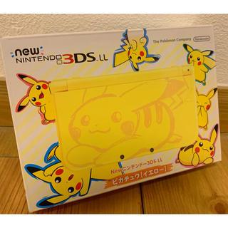 ニンテンドー3DS - 新品 Nintendo New ニンテンドー 3DS LL ポケモン ピカチュウ