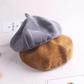 agnes b. - 【新品】ベレー帽 ベビー キッズ アニエスベー  グレー