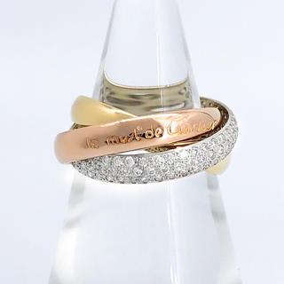 Cartier - 【仕上済】カルティエ トリニティリング ダイヤ 10号 レディース 指輪