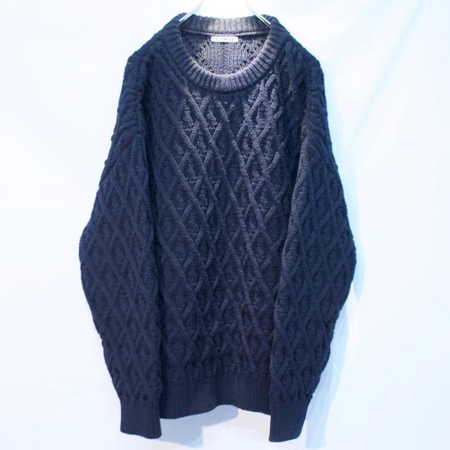AURALEE 19aw アラン編みニット サイズ4 メンズのトップス(ニット/セーター)の商品写真