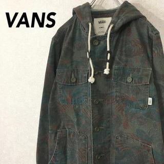 ヴァンズ(VANS)のインド製 VANS バンズ ジャケット ミリタリージャケット カモフラ(ミリタリージャケット)