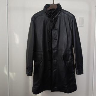 バーバリーブラックレーベル(BURBERRY BLACK LABEL)のバーバリー  コート(レザージャケット)