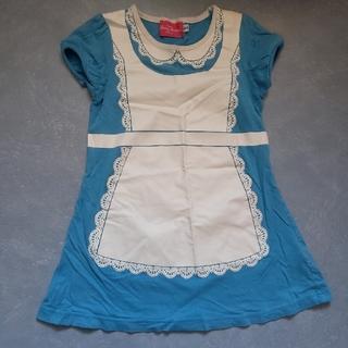 ディズニー(Disney)のアリス ワンピースTシャツ 110(Tシャツ/カットソー)