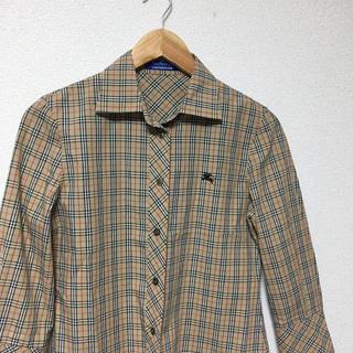 BURBERRY BLUE LABEL - BURBERRY  チェックシャツ Mサイズ