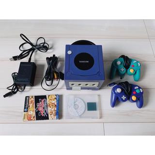 任天堂 - ゲームキューブ  本体、コントローラー、メモリーカード2つ、大乱闘DX