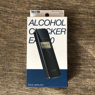 タニタ(TANITA)の【新品】タニタ アルコールチェッカー アルコールセンサー ブラック(その他)