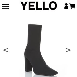 イエローブーツ(Yellow boots)のYelloshoes NINJA BLACK ・ M(ブーツ)