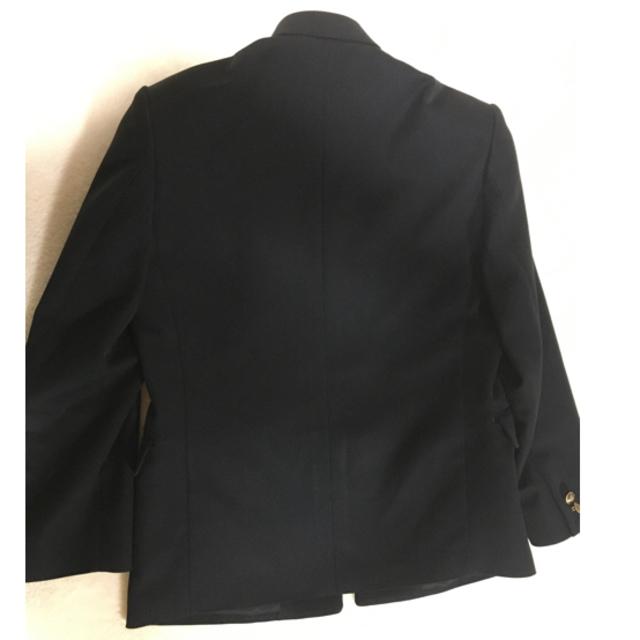 学ラン 上着のみ 160A KANKO 黒 メンズのスーツ(スーツジャケット)の商品写真