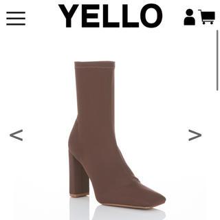 イエローブーツ(Yellow boots)のYelloshoes HOT COCOA SHORT ・M(ブーツ)