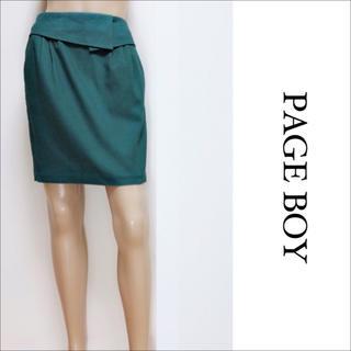 PAGEBOY - PAGEBOY ウエストデザイン スカート♡マウジー LOWRYSFARM