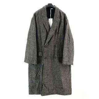 COMOLI - 新作 新品 グラフペーパー ロングコート2 ブラック