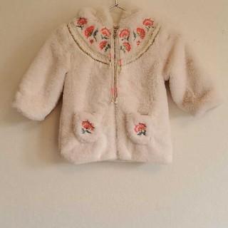 キャラメルベビー&チャイルド(Caramel baby&child )のlouise misha 刺繍furコート(コート)