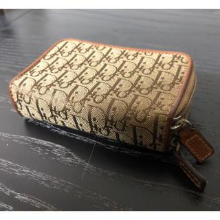 クリスチャンディオール(Christian Dior)のディオール トロッター柄 キーケース&小銭入れ(キーケース)