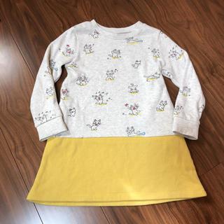 Design Tshirts Store graniph - ワンピース ノンタン  120 グラニフ