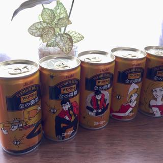 アサヒ(アサヒ)のアサヒ飲料 ワンダ ルパン缶(コーヒー)